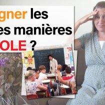 L'école devrait-elle proposer des cours de bonnes manières aux enfants ?