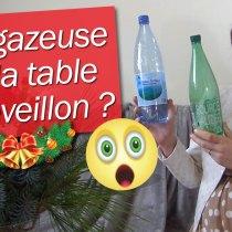 Eau gazeuse en bouteille sur la table de Noël : toléré ou anti-étiquette ?