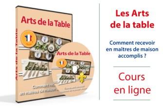 recevoir art de la table programme formation étiquette maîtres de maison accomplis