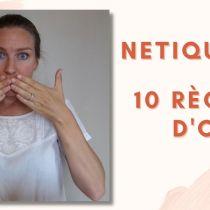 Netiquette : internet + étiquette / Les 10 règles d'or pour réussir vos mails