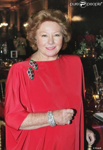 Nadine de Rothschild et l'élégance vestimentaire