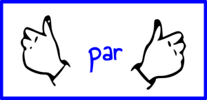 Opération des doigts levés 6 x 6