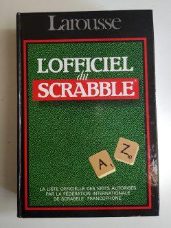Dictionnaire officiel Larousse pour le Scrabble