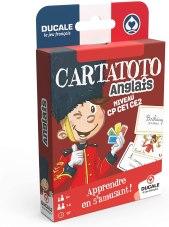 Le jeu de carte CARTATOTO Anglais