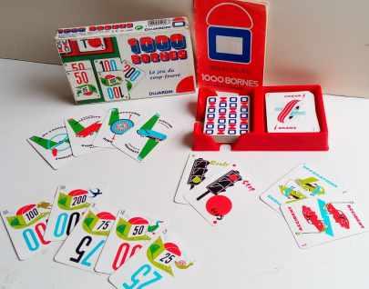 Jeu de cartes : Le Mille Bornes
