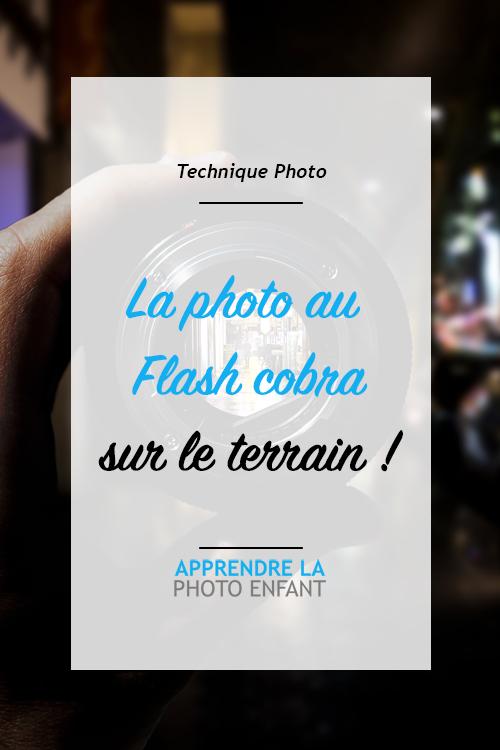 photo au flash