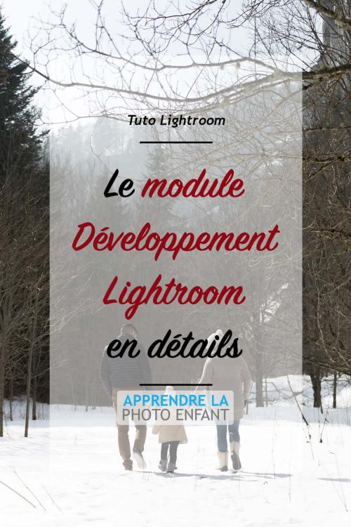 Développement Lightroom