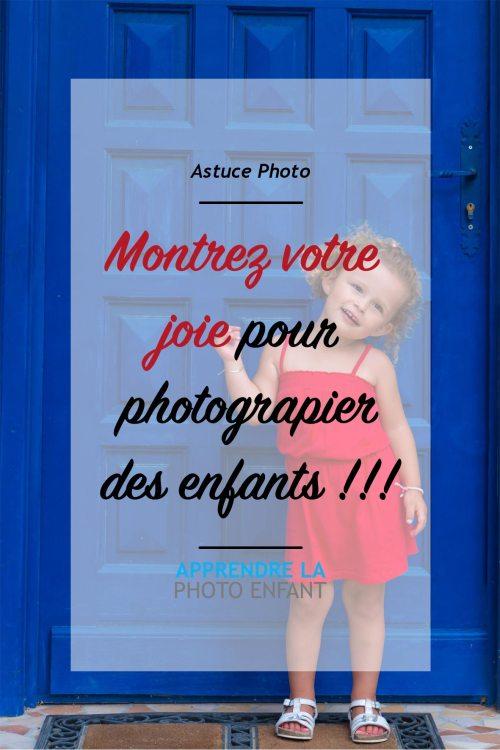 photographier des enfants