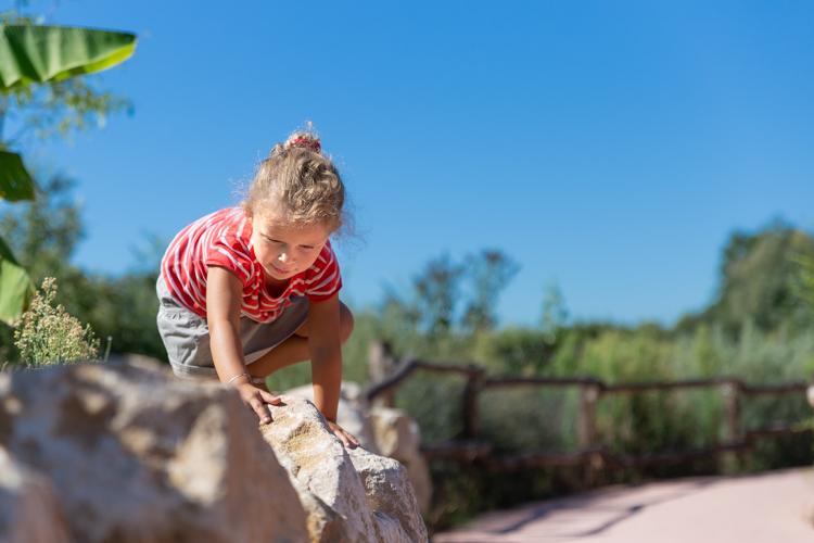 photos d'enfant en plein soleil