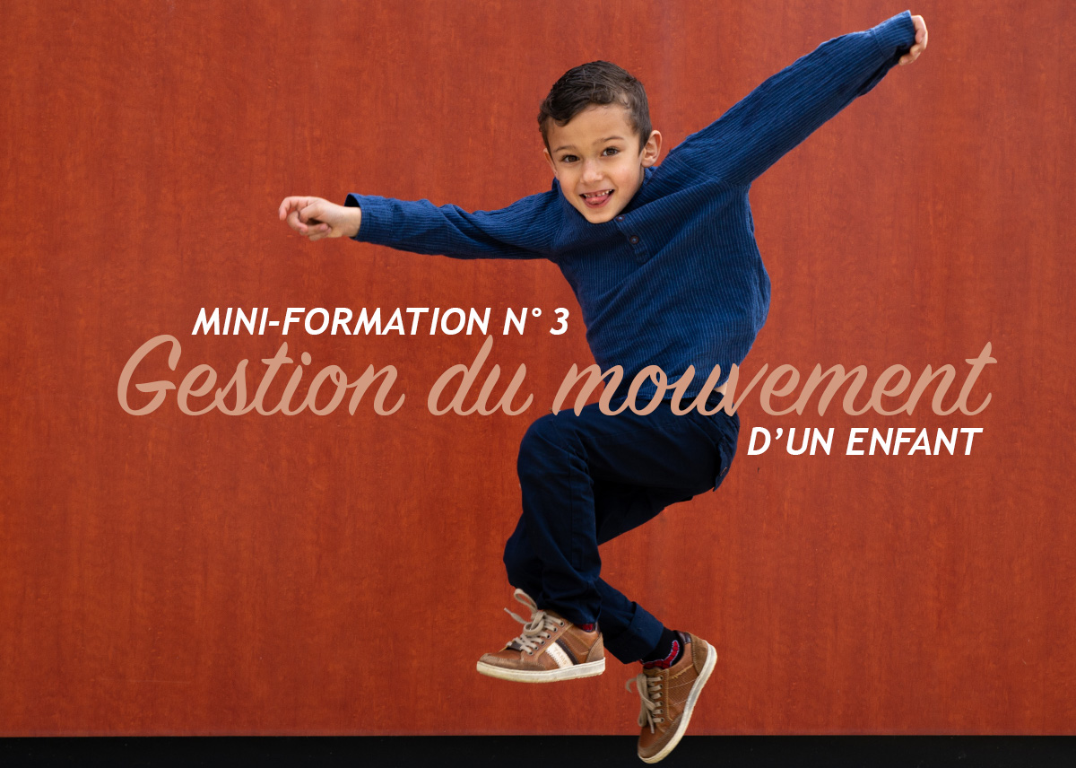Mini-Formation Photo N°3 – Gérer les mouvements d'un enfant