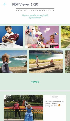 Visuel PDF journal photo Neveo