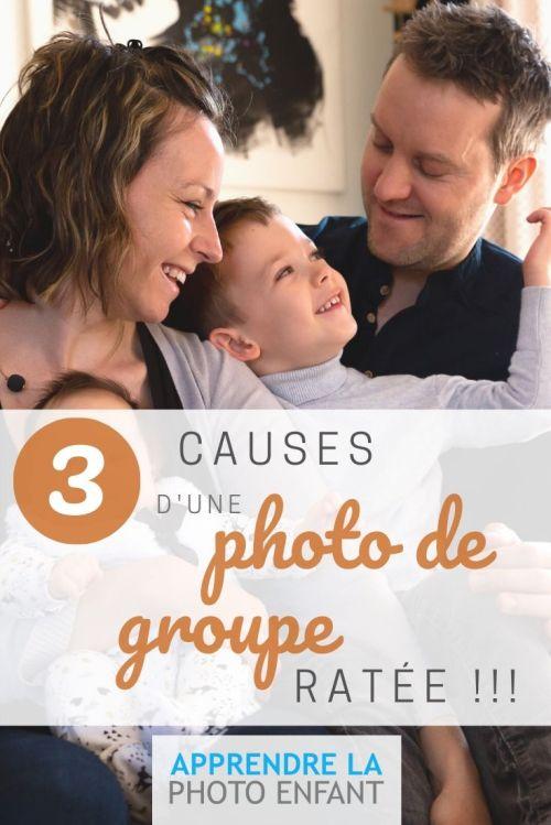 3 causes d'une photo de groupe ratée