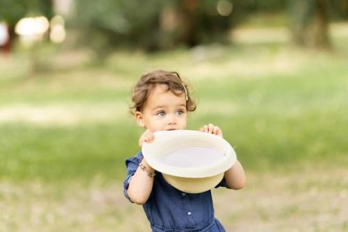 Jouer avec la profondeur de champ pour des photos d'enfant