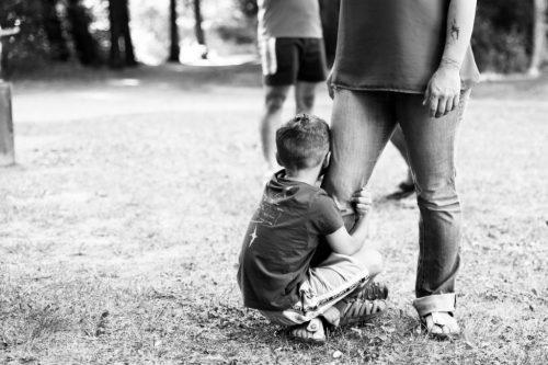Séance photo d'enfant et famille