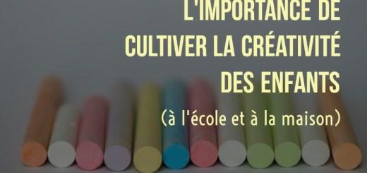 créativité enfants école