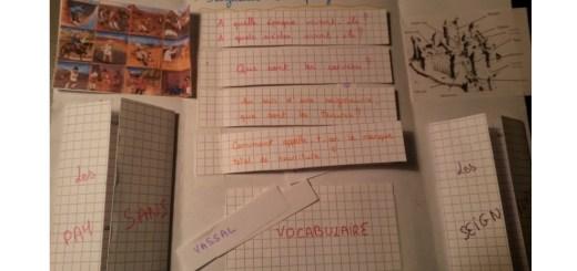 lapbook révisions