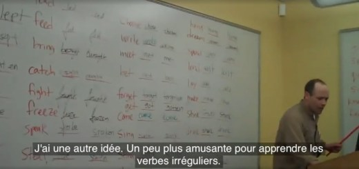 méthode apprendre les verbes irréguliers en anglais