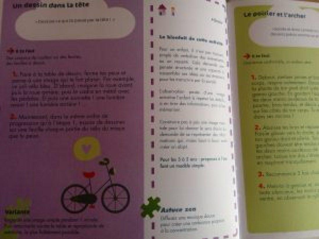 activités pour développer concentration enfants