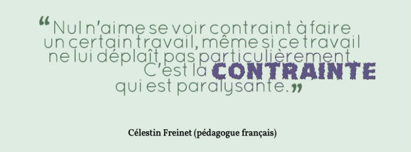citation freinet