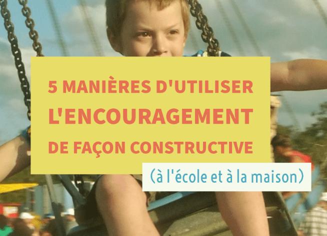 encouragement-a-lecole
