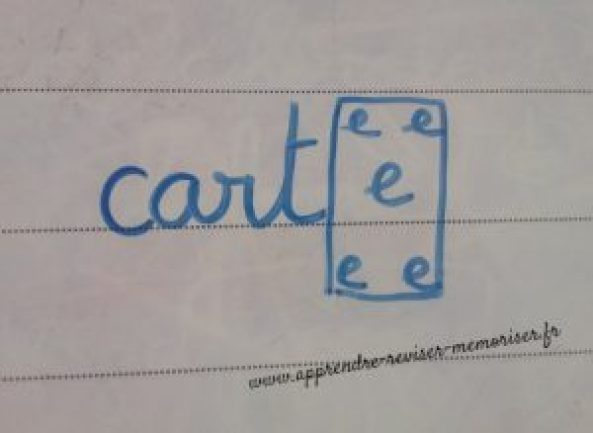 apprendre l'orthographe