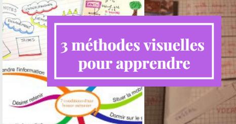 méthodes visuelles apprendre
