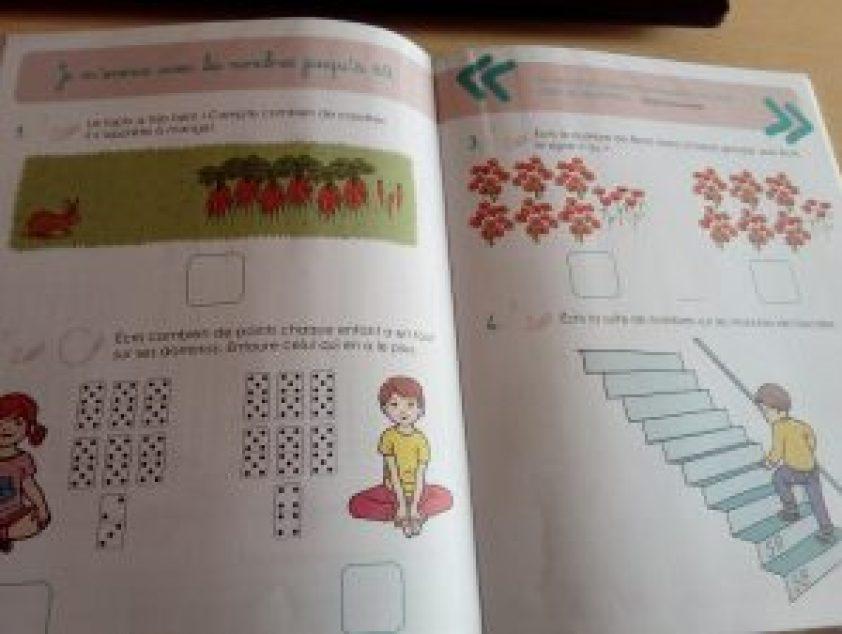 cahier montessori je calcule jusqu'à 100