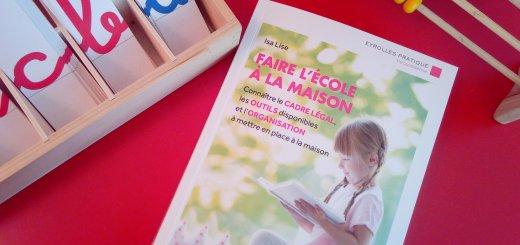 livre faire école à la maison