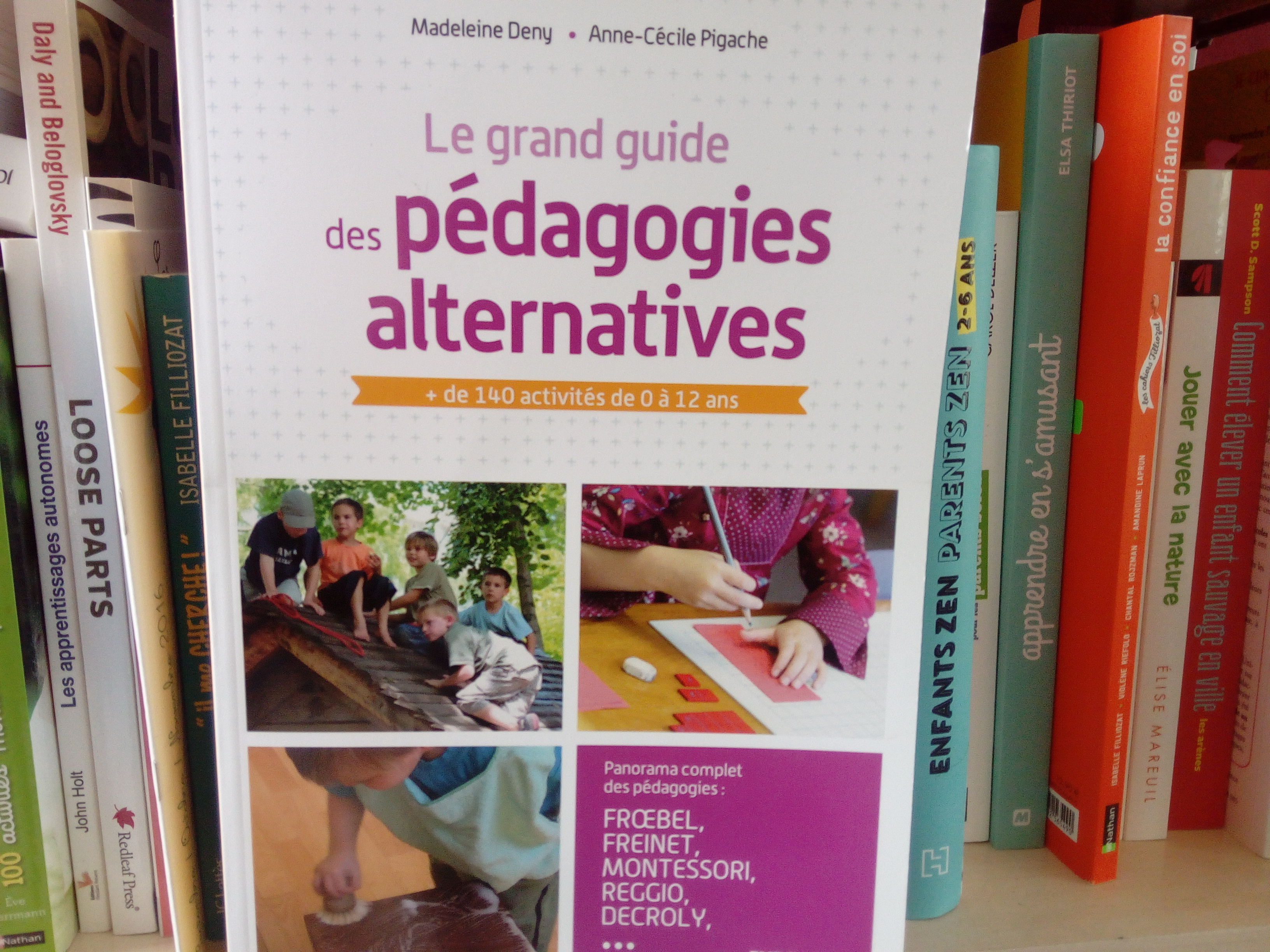 guide pédagogie alternative