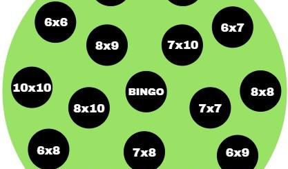 bingo de multiplication