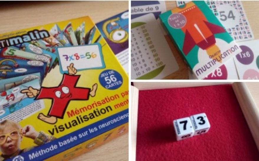 jeu retenir tables multiplication