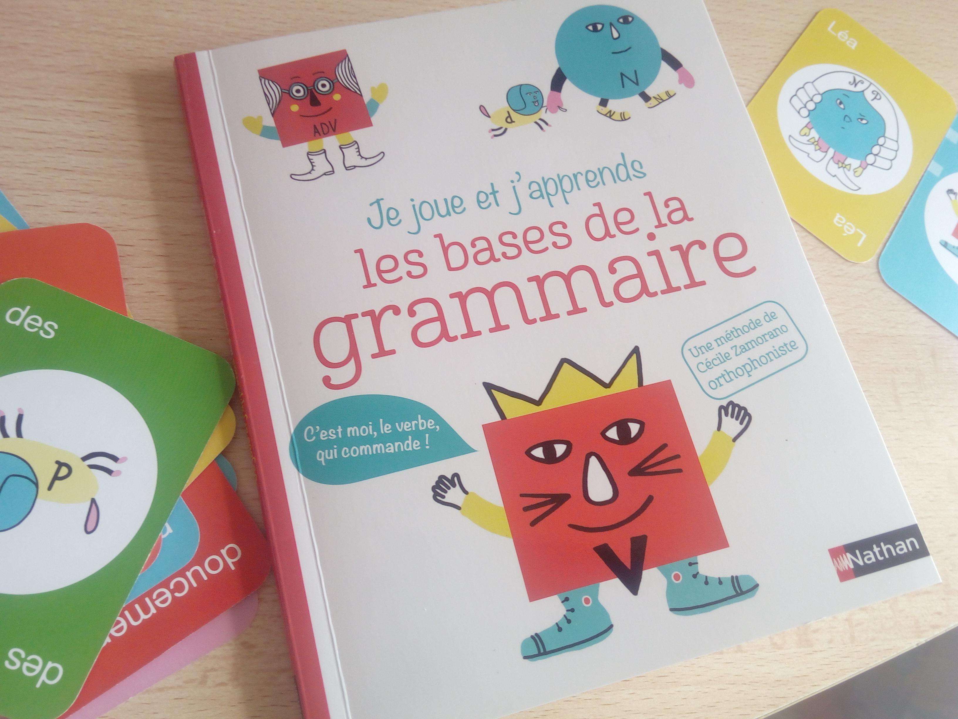 apprendre base grammaire