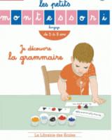 cahier grammaire montessori