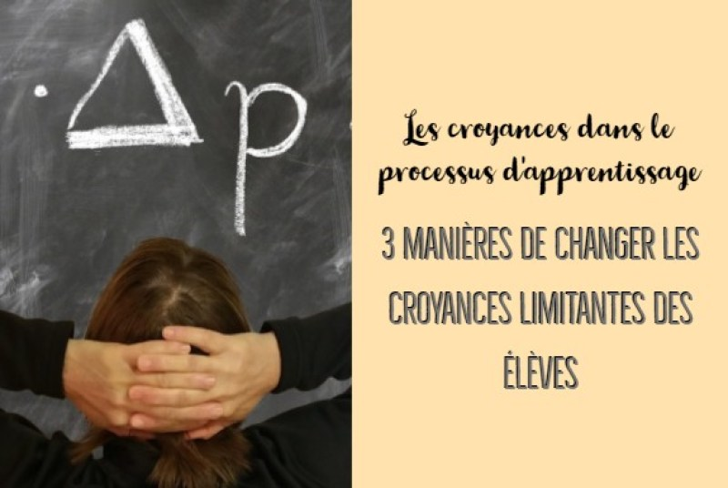 croyances dans le processus d'apprentissage