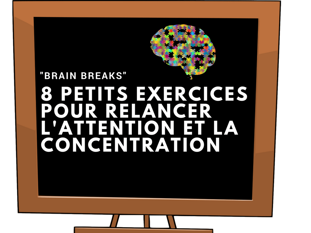 Brain breaks ATTENTION concentration