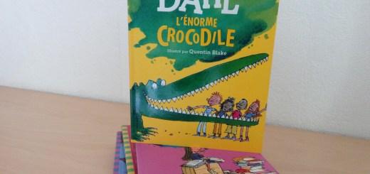 livre L'Énorme Crocodile