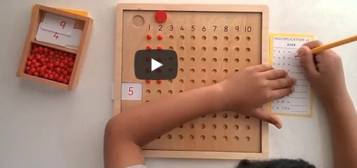 tableau de multiplication montessori