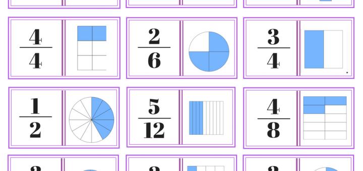 dominos de fractions