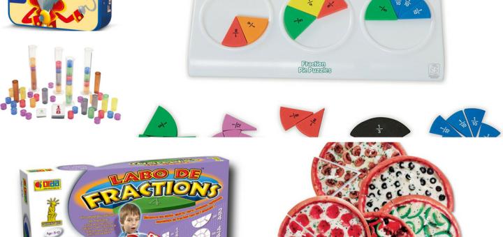 5 jeux pour travailler les notions de fractions avec les enfants