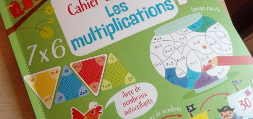 cahier multiplications