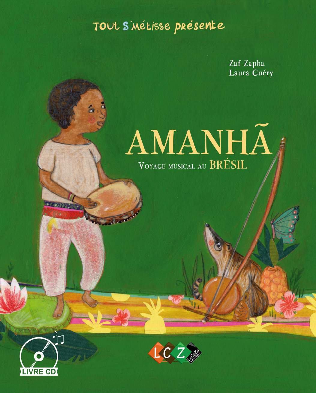 livre cd musique brésil enfants