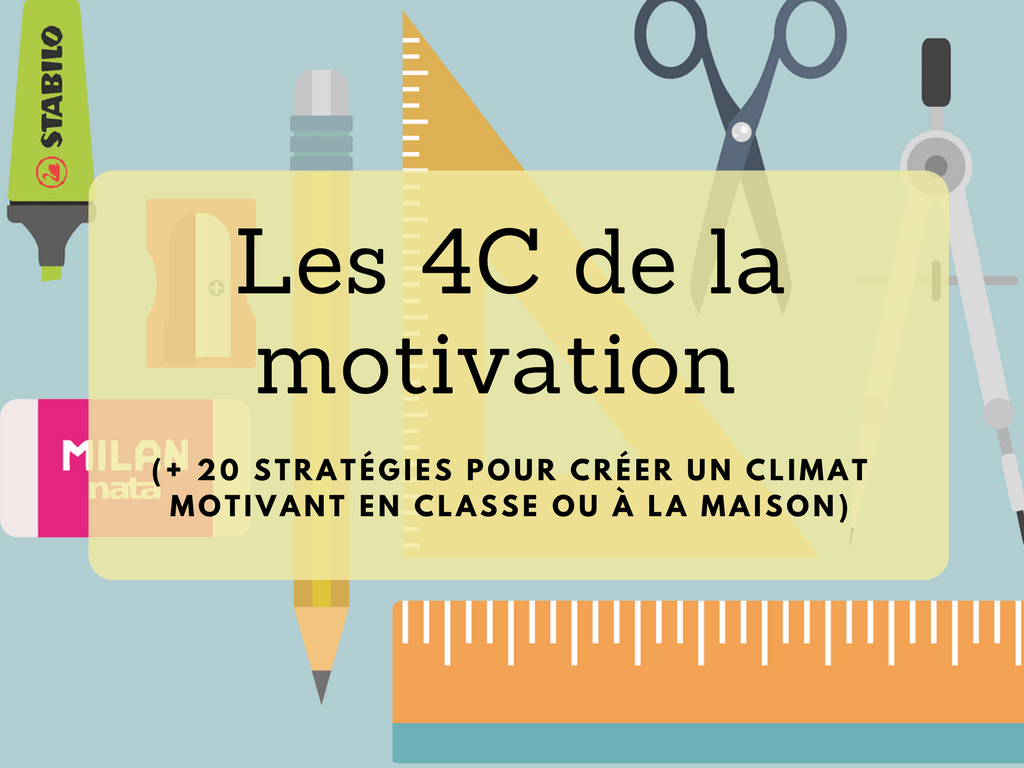 Les 4C de la motivation