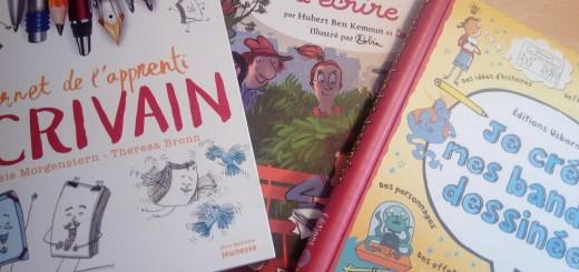 cahier écrivain enfants