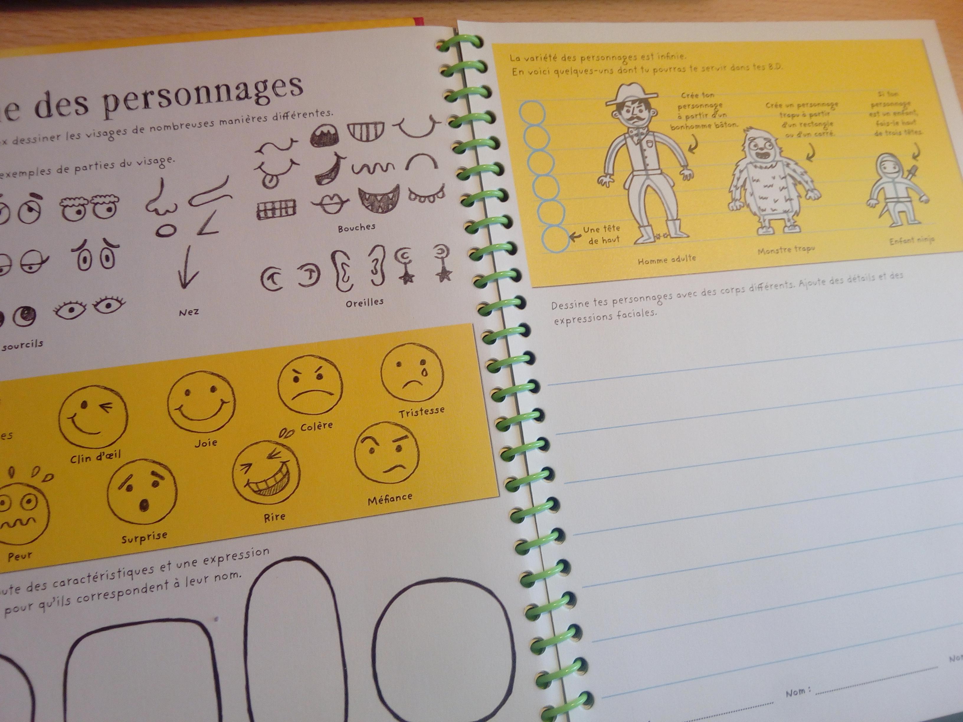 carnet écrivain enfants