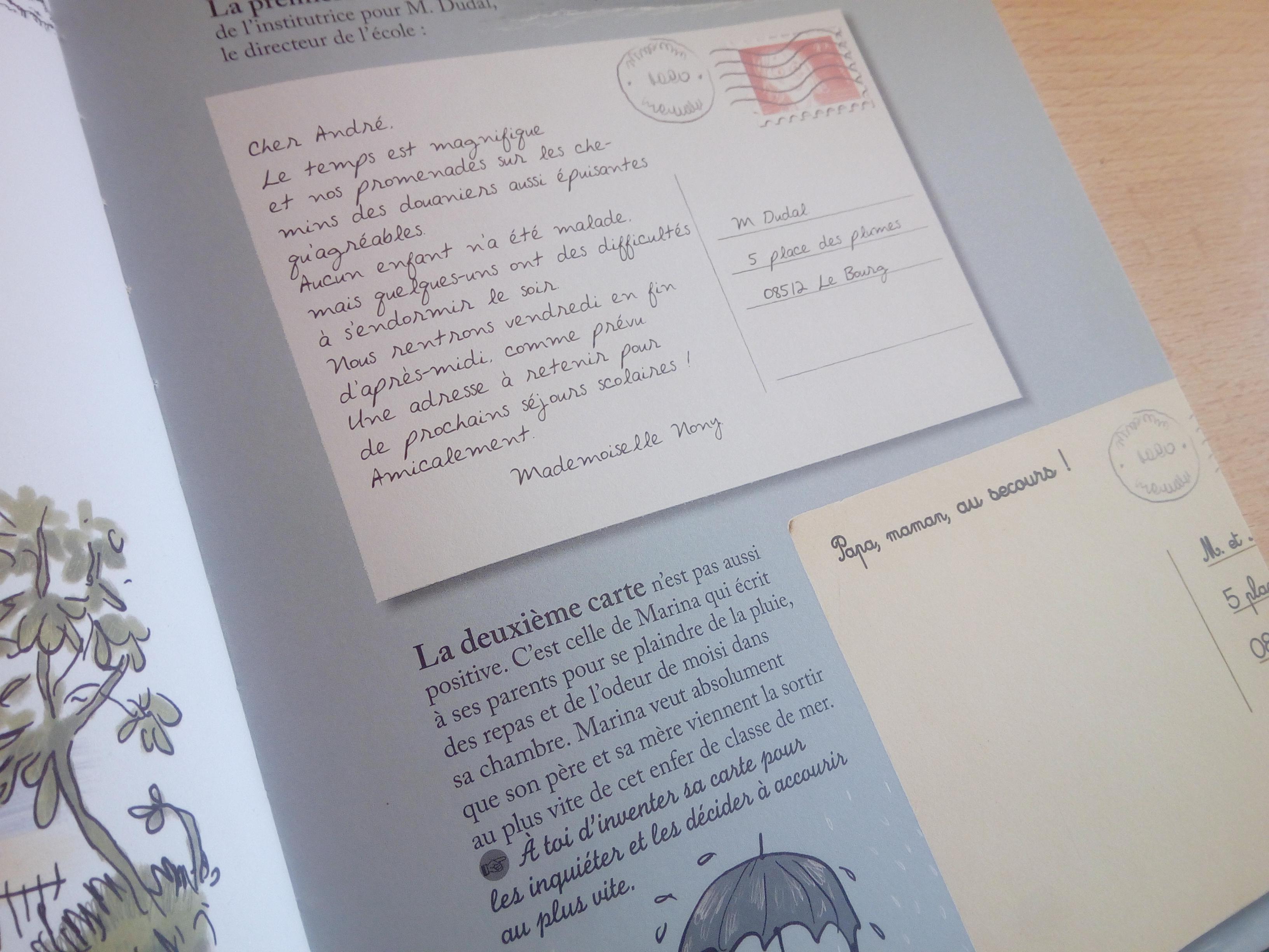 carnet faire écrire enfants