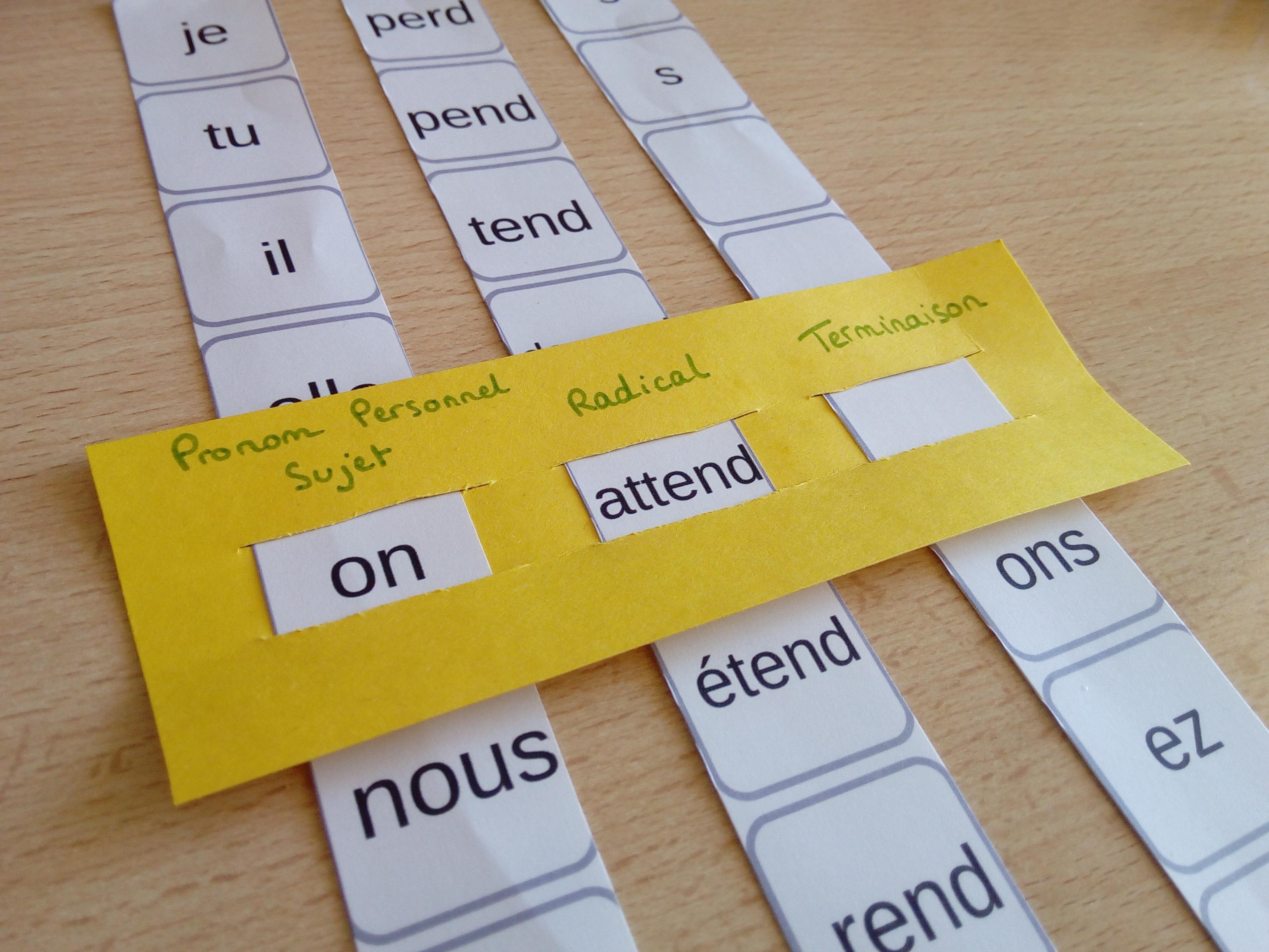 conjugaison verbes troisième groupe
