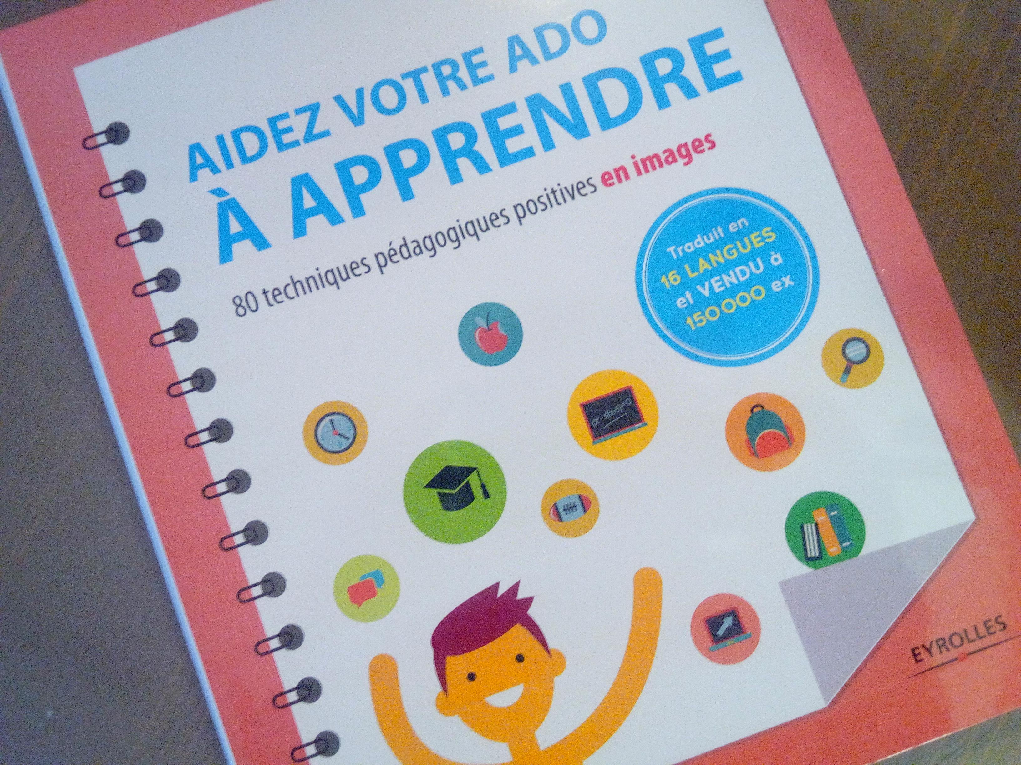 livre techniques pédagogiques illustrées ado
