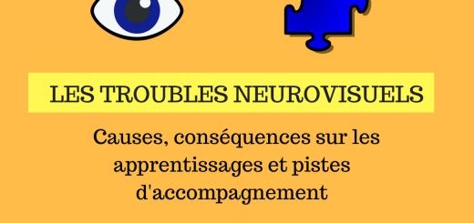 Les troubles neurovisuels _ causes, conséquences sur les apprentissages et pistes d'accompagnement