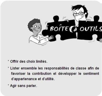 boite outils discipline positive classe