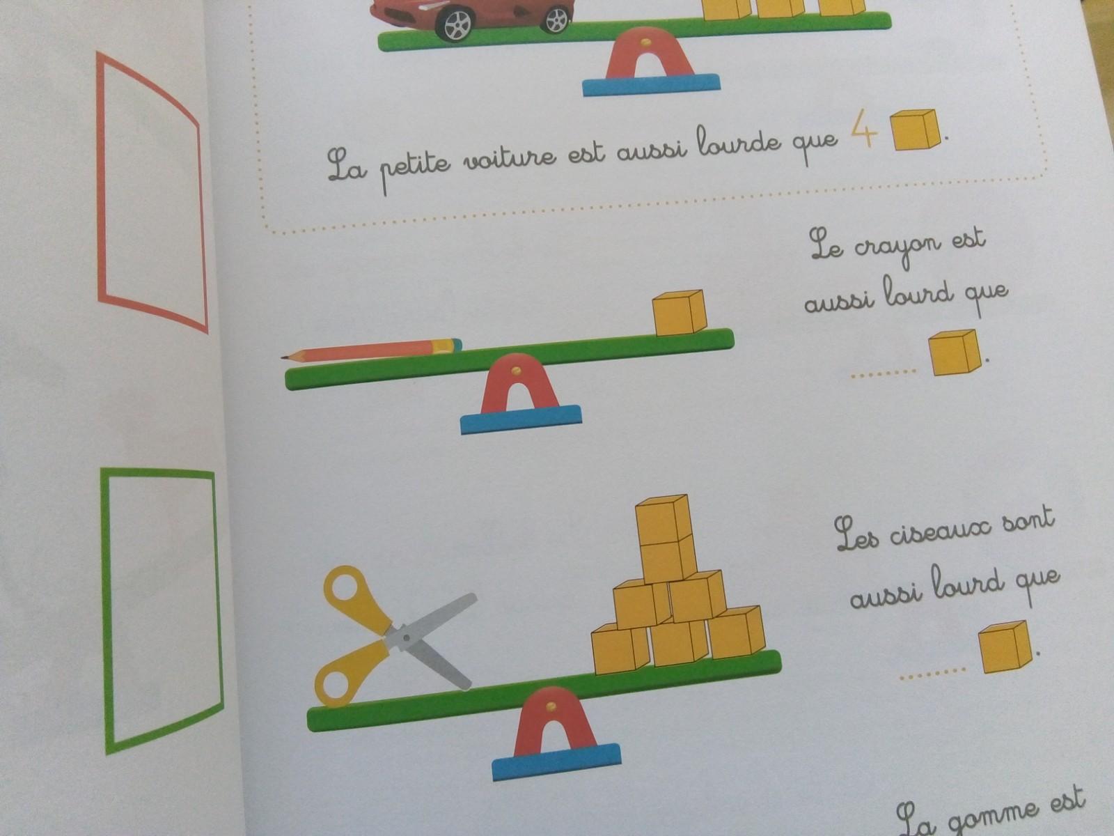 cahier mathématiques singapour maternelle